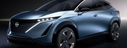Nissan introduced the electric crossover Ariya